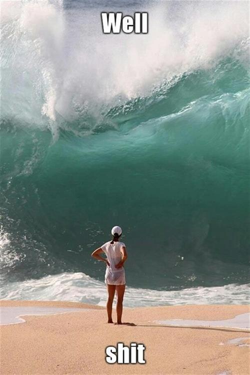 This is how it felt like looking at the last quarter of the year.