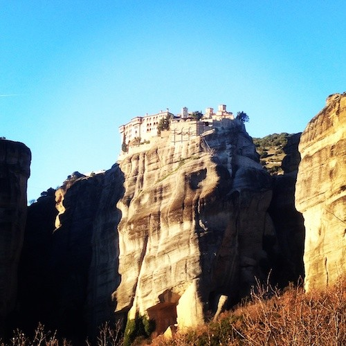 The pillar monasteries of Meteora were really impressive. A perfect place to hide from a zombie holocaust!