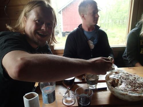 One of Ines' awesome dessert puddings! (Photo: Metsähallitus / Jalmari Laurila)