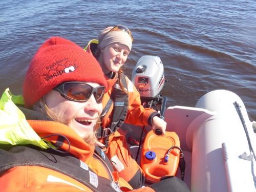 Heading out to the sea! (Photo: Metsähallitus / Janos Honkonen)
